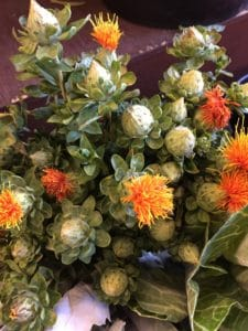 Safflower $14.95 per bunch