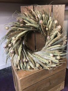 Dried Grasses Wreaths $50 - USA Made!