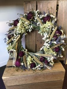 Dried Wreaths $45 - USA Made!