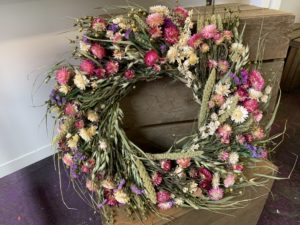 Dried Spring Wreaths $60
