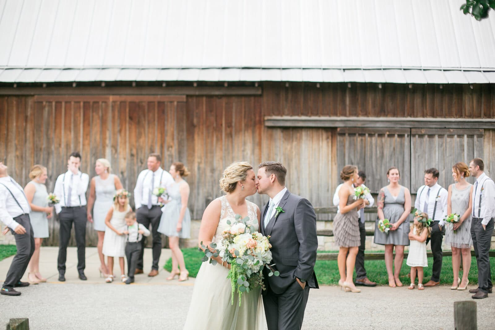 Lush Wedding Florals | Normandy Barn at Indiana State