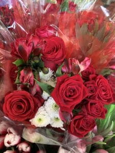 Demiluxe Red Bouquet $14.95