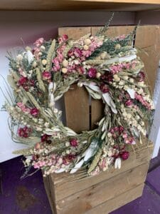 Dried Wreaths $60